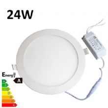 JSG Accessories® LED Round Recessed Ceiling Panel down Light Ultra-slim Lamp Ultra-Thin 24W